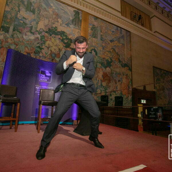 Joe Calzaghe CBE at The Events Room's Pride of Wales Dinner