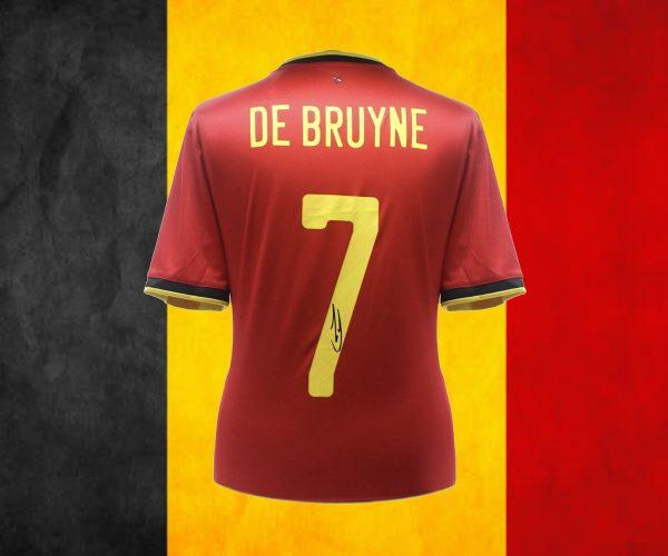 De Bruyne Belgium Jersey