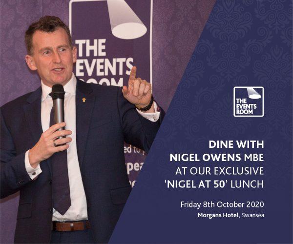 Dine with Nigel Owens