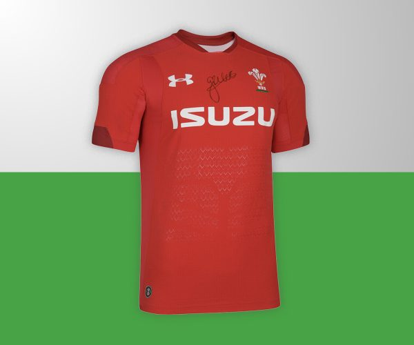 George North Wales Jersey