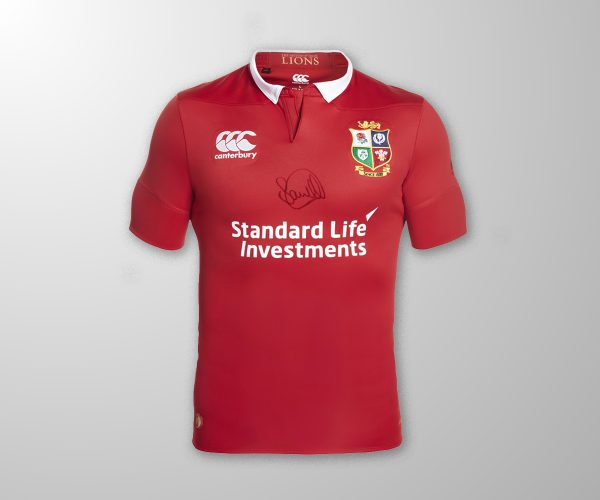 Sam Warburton Lions Jersey