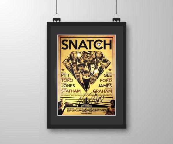 Vinnie Jones Snatch Poster